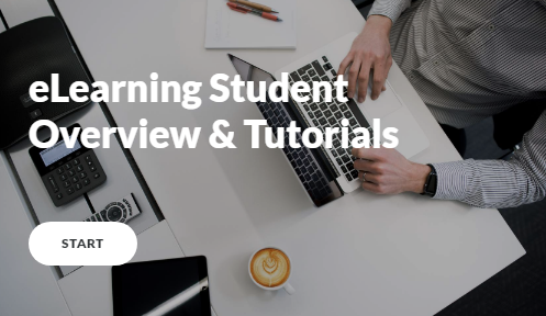 Button for eLearning Student Overview